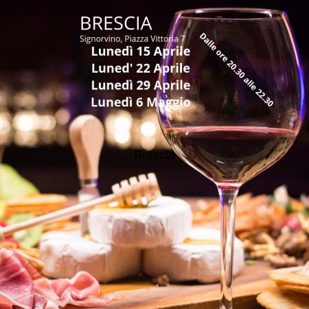 Corso avvicinamento al vino a Brescia