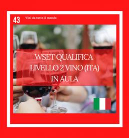 WSET Qualifica livello 2 vino
