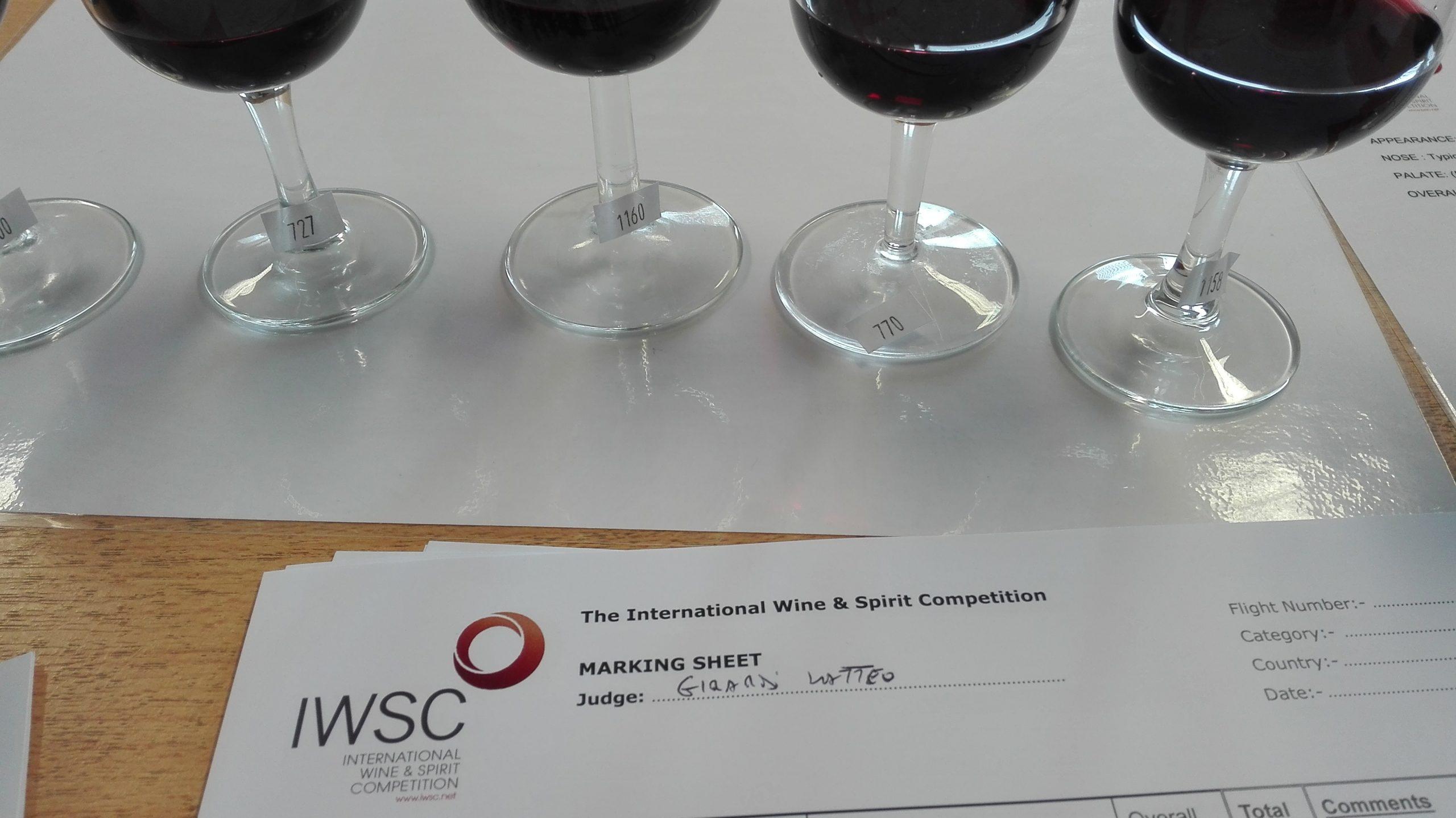 IWSC Tasting