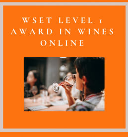 Online WSET Level 1 Award in Wines
