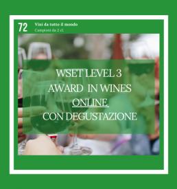 WSET Level 3 Award in Wines Online